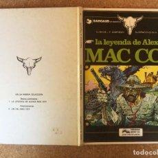 Cómics: MAC COY 1 - LA LEYENDA DE ALEXIS - JUNIOR / GRIJALBO - TAPA DURA - GCH1. Lote 209908645
