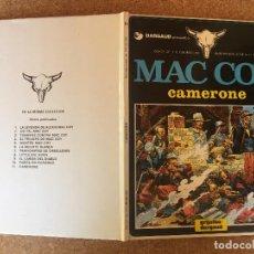 Cómics: MAC COY 11 - CAMERONE - JUNIOR / GRIJALBO - TAPA DURA - GCH1. Lote 209908828