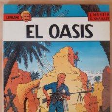 Cómics: LEFRANC. EL OASIS - J. MARTIN / G. CHAILLET - EDICIONES JUNIOR. Lote 209948765
