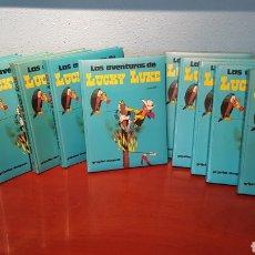 Cómics: COLECCIÓN LAS AVENTURAS DE LUCKY LUKE (11 TOMOS)GRIJALBO OPORTUNIDAD. Lote 209963106