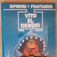 Cómics: VITO EL CENIZO; SPIROU Y FANTASIO - TOME / JANRY - EDICIONES JUNIOR. Lote 209987785