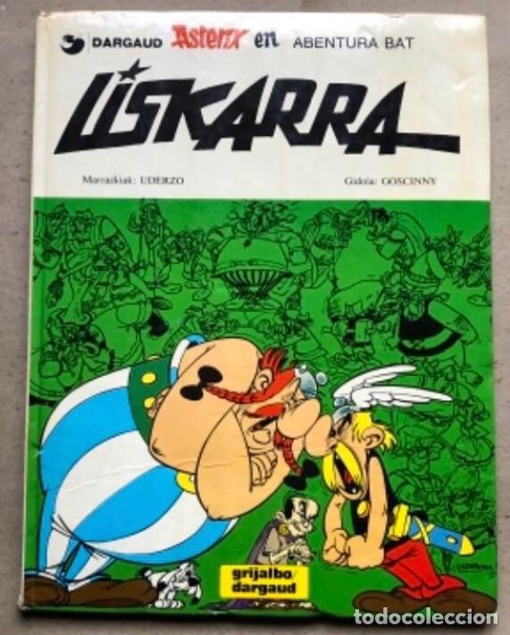 LISKARRA ASTERIX-EN ABENTURA BAT. UDERZO ETA GOSCINNY. GRIJALBO/DARGAUD 1981. EUSKARAZ. (Tebeos y Comics - Grijalbo - Asterix)