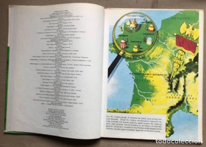 Cómics: LISKARRA ASTERIX-EN ABENTURA BAT. UDERZO ETA GOSCINNY. GRIJALBO/DARGAUD 1981. EUSKARAZ. - Foto 3 - 210979732