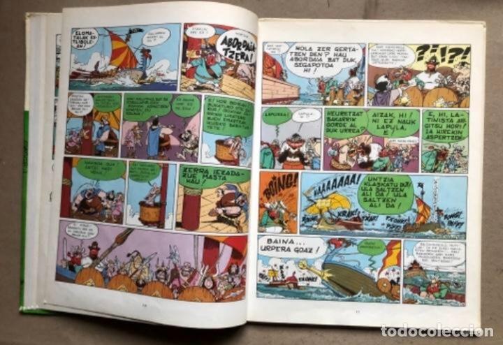 Cómics: LISKARRA ASTERIX-EN ABENTURA BAT. UDERZO ETA GOSCINNY. GRIJALBO/DARGAUD 1981. EUSKARAZ. - Foto 4 - 210979732