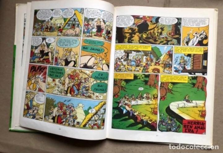 Cómics: LISKARRA ASTERIX-EN ABENTURA BAT. UDERZO ETA GOSCINNY. GRIJALBO/DARGAUD 1981. EUSKARAZ. - Foto 5 - 210979732