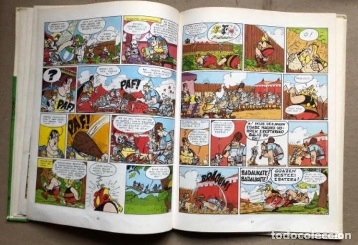 Cómics: LISKARRA ASTERIX-EN ABENTURA BAT. UDERZO ETA GOSCINNY. GRIJALBO/DARGAUD 1981. EUSKARAZ. - Foto 6 - 210979732
