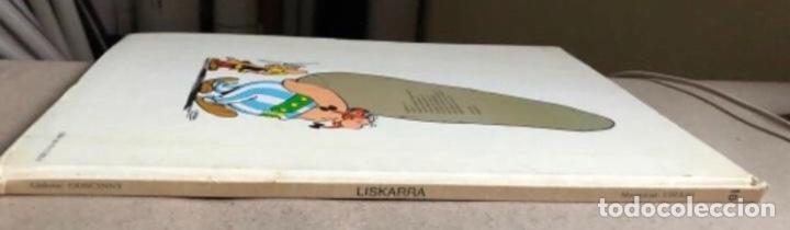 Cómics: LISKARRA ASTERIX-EN ABENTURA BAT. UDERZO ETA GOSCINNY. GRIJALBO/DARGAUD 1981. EUSKARAZ. - Foto 9 - 210979732
