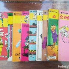 Cómics: LUCKY LUKE. GRIJALBO. LOTE DE 9 COMICS. Lote 210980467