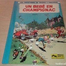 Comics : LAS AVENTURAS DE SPIROU Y FANTASIO Nº 15, UN BEBE EN CHAMPIGNAC, T 10. Lote 211418230