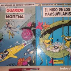 Comics : LAS AVENTURAS DE SPIROU Y FANTASIO Nº 7 Y 10 T 10. Lote 211418916
