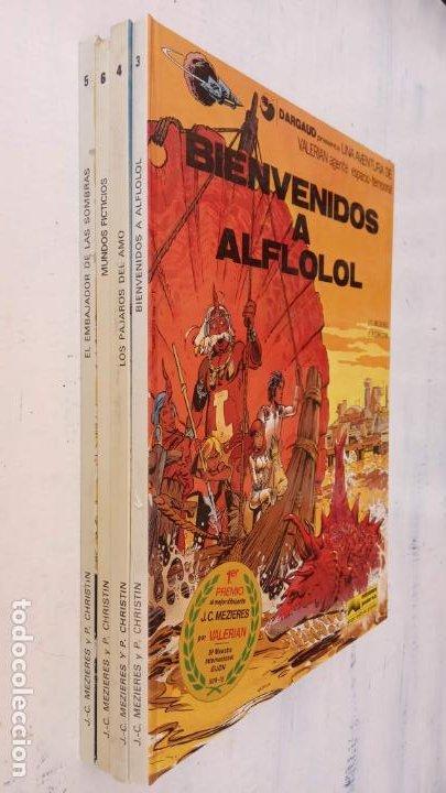 Cómics: VALERIAN AGENTE ESPACIO-TEMPORAL NºS - 3,4,5,6 - Foto 7 - 211437011