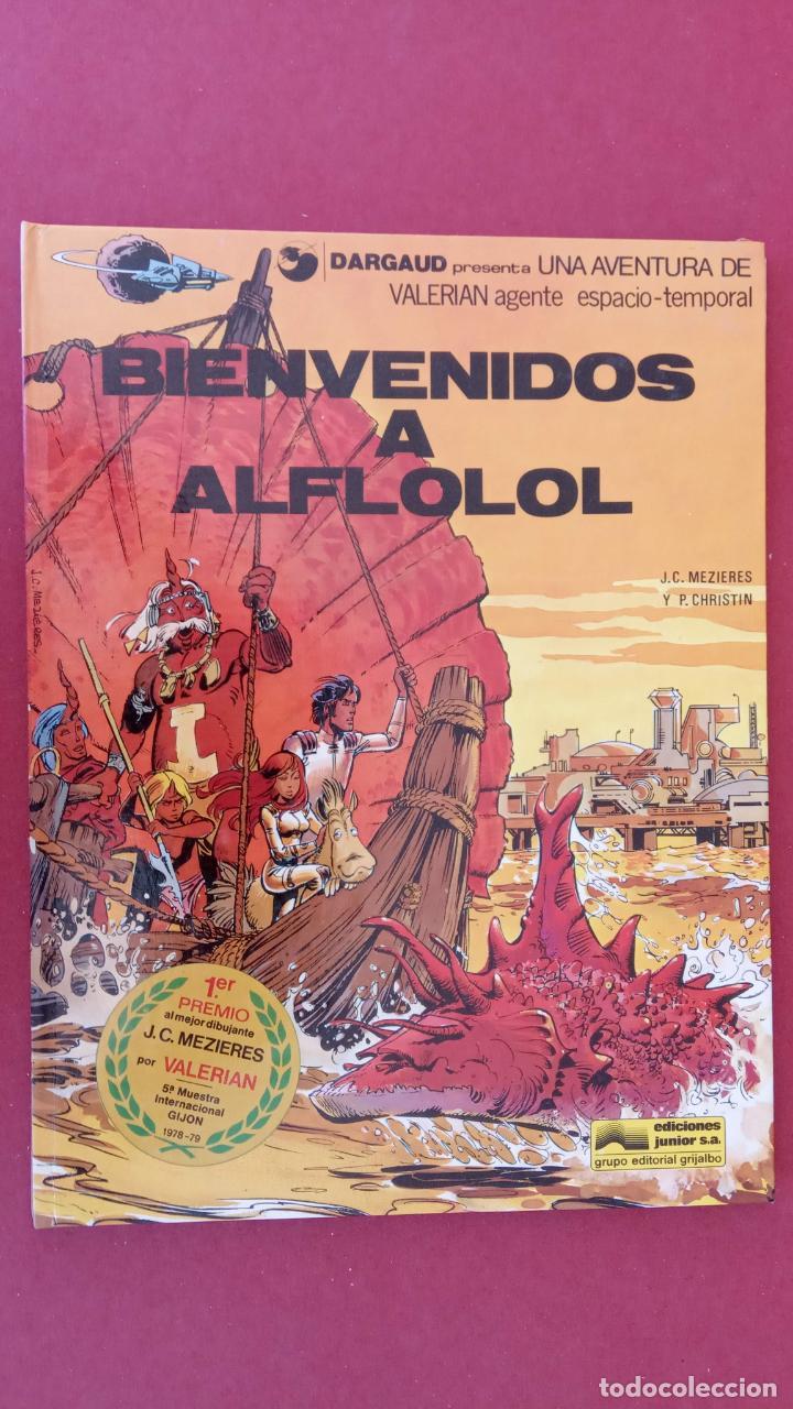 Cómics: VALERIAN AGENTE ESPACIO-TEMPORAL NºS - 3,4,5,6 - Foto 14 - 211437011