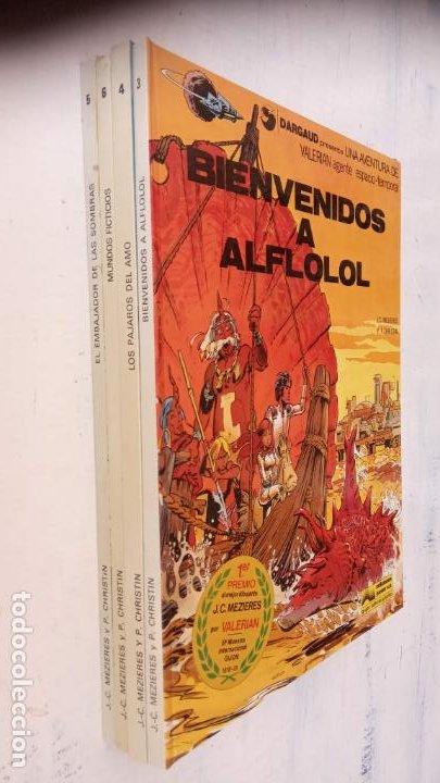 VALERIAN AGENTE ESPACIO-TEMPORAL NºS - 3,4,5,6 (Tebeos y Comics - Grijalbo - Valerian)