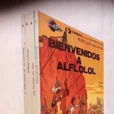 Cómics: VALERIAN AGENTE ESPACIO-TEMPORAL NºS - 3,4,5,6. Lote 211437011