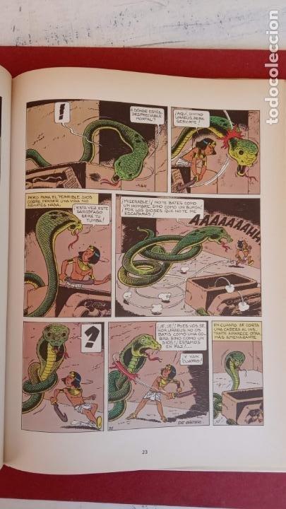 Cómics: PAPYRUS Nº 4 - LA TUMBA DEL FARAÓN por DE GIETER - 1988 EDICIONES JUNIOR - TAPA DURA, MUY BIEN - Foto 6 - 121347455
