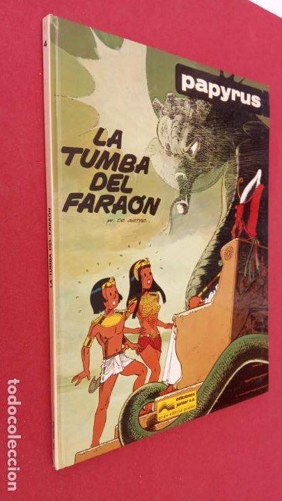 Cómics: PAPYRUS Nº 4 - LA TUMBA DEL FARAÓN por DE GIETER - 1988 EDICIONES JUNIOR - TAPA DURA, MUY BIEN - Foto 8 - 121347455