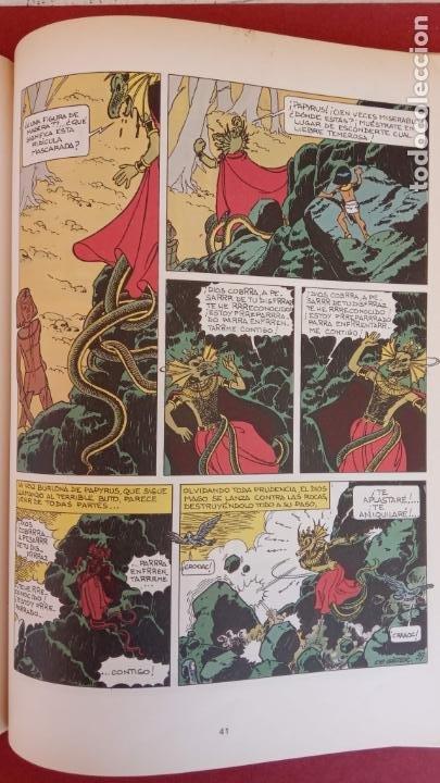 Cómics: PAPYRUS Nº 4 - LA TUMBA DEL FARAÓN por DE GIETER - 1988 EDICIONES JUNIOR - TAPA DURA, MUY BIEN - Foto 9 - 121347455