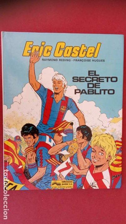 Cómics: ERIC CASTEL Nº 6, EDICIONES JUNIOR 1984, MUY NUEVO, RAYMOND REDING Y FRANCOISE HUGES - Foto 3 - 17547664