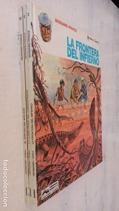 Cómics: HERMAN - GREG - BERNARD PRINCE NºS - 3,8,10 - 1992 EDICIONES JUNIOR - GRIJALBO-MONDADORI - Foto 2 - 211438697