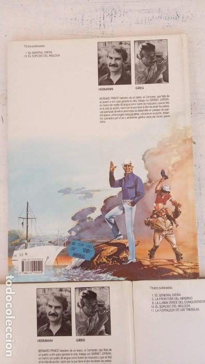 Cómics: HERMAN - GREG - BERNARD PRINCE NºS - 3,8,10 - 1992 EDICIONES JUNIOR - GRIJALBO-MONDADORI - Foto 4 - 211438697
