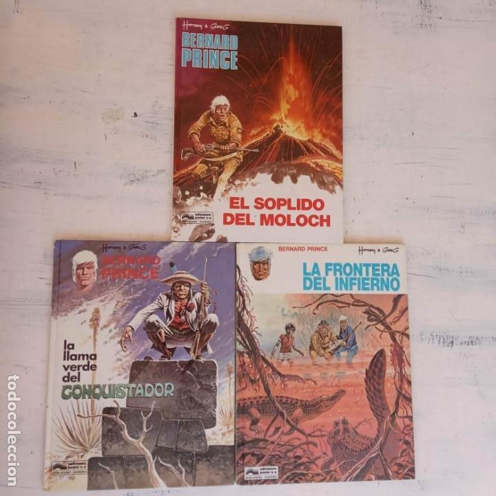HERMAN - GREG - BERNARD PRINCE NºS - 3,8,10 - 1992 EDICIONES JUNIOR - GRIJALBO-MONDADORI (Tebeos y Comics - Grijalbo - Otros)