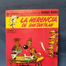 Cómics: COMIC NÚMERO 8 DE LUCKY LUKE .LA HERENCIA DE RAN TAN PLAN. Lote 211451292