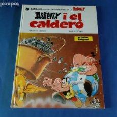 Cómics: ASTERIX I EL CALDERO-CATALAN-1982-EXCELENTE ESTADO. Lote 211462560