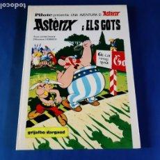 Cómics: ASTERIX I ELS GOTS-1º EDICIÓN EN CATALAN-1978-EXCELENTE ESTADO. Lote 211463766