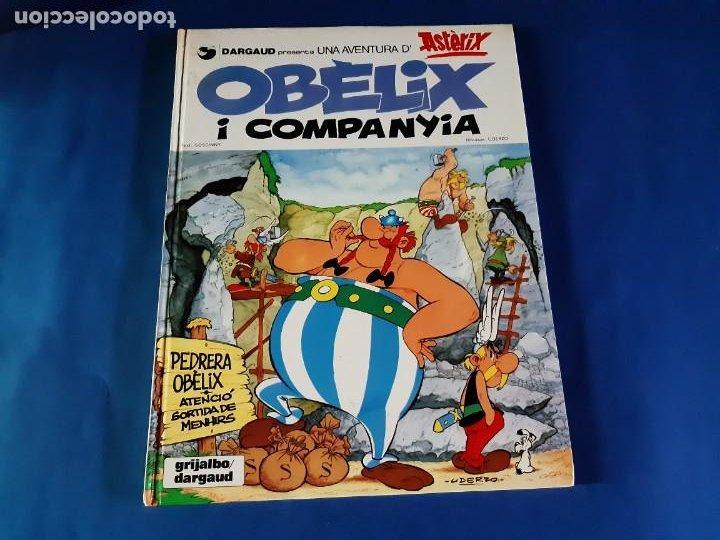 OBELIX I COMPANYIA-1º EDICIÓN EN CATALAN-1980 (Tebeos y Comics - Grijalbo - Asterix)