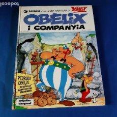 Cómics: OBELIX I COMPANYIA-1º EDICIÓN EN CATALAN-1980. Lote 211463986