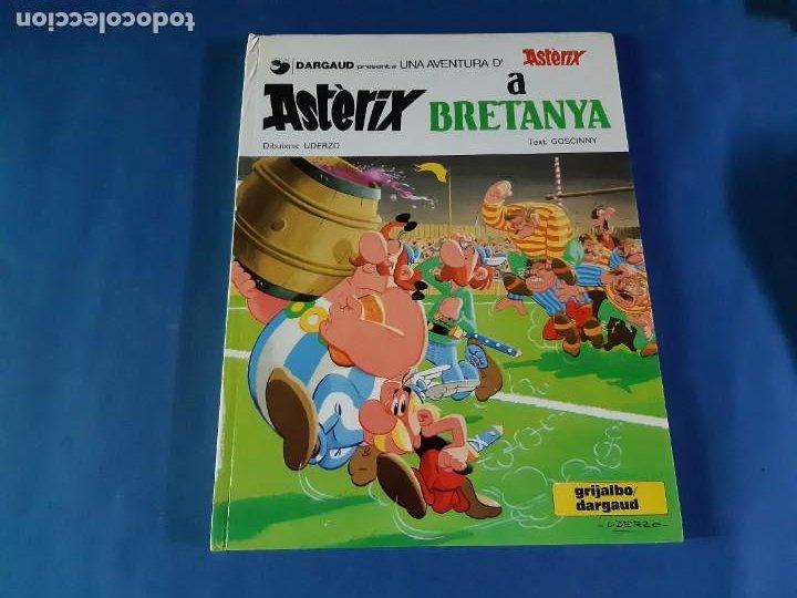 ASTERIX A BRETANYA -1º EDICIÓN EN CATALAN-1981 (Tebeos y Comics - Grijalbo - Asterix)