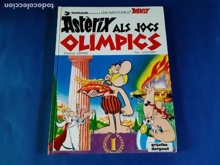 ASTERIX ALS JOCS OLIMPICS - EDICIÓN EN CATALAN-1980 (Tebeos y Comics - Grijalbo - Asterix)