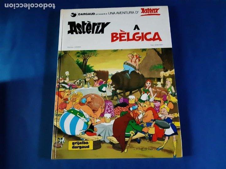 ASTERIX A BELGICA - 1ª EDICIÓN EN CATALAN-1980 -EXCELENTE ESTADO (Tebeos y Comics - Grijalbo - Asterix)