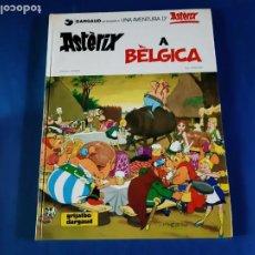 Cómics: ASTERIX A BELGICA - 1ª EDICIÓN EN CATALAN-1980 -EXCELENTE ESTADO. Lote 211464760