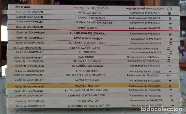 Cómics: MAC COY (COLECCION COMPLETA) - A. HERNANDEZ PALACIOS Y GOURMELEN (GRIJALBO/NORMA 1978) - Foto 2 - 211473825