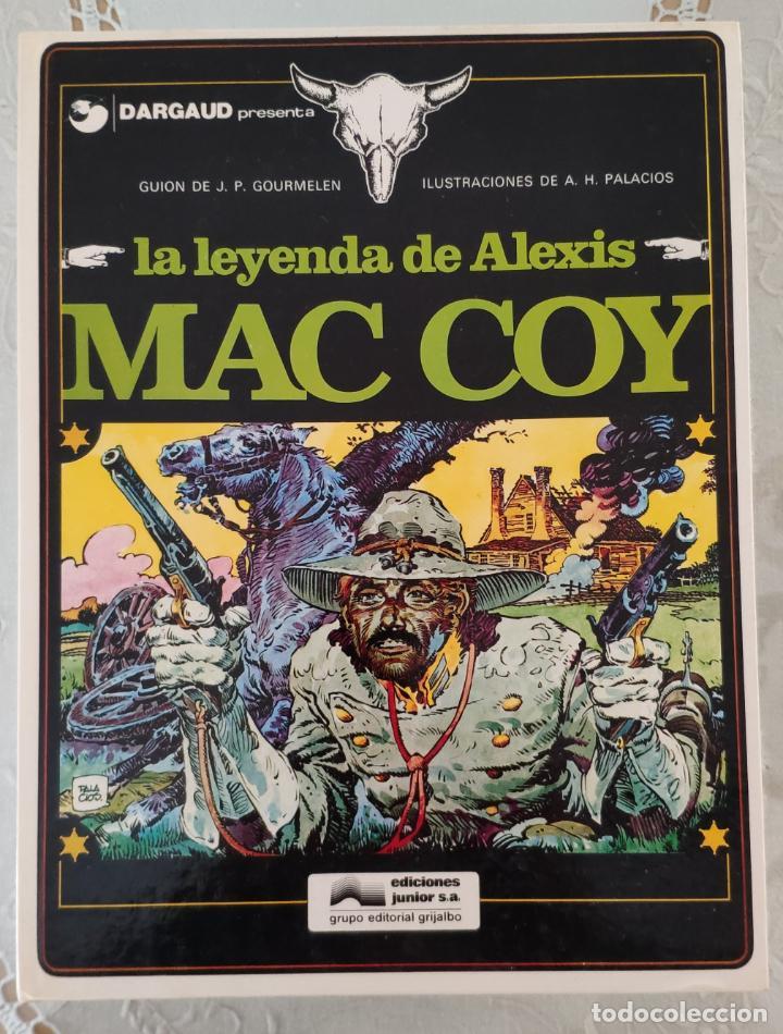 MAC COY (COLECCION COMPLETA) - A. HERNANDEZ PALACIOS Y GOURMELEN (GRIJALBO/NORMA 1978) (Tebeos y Comics - Grijalbo - Mac Coy)