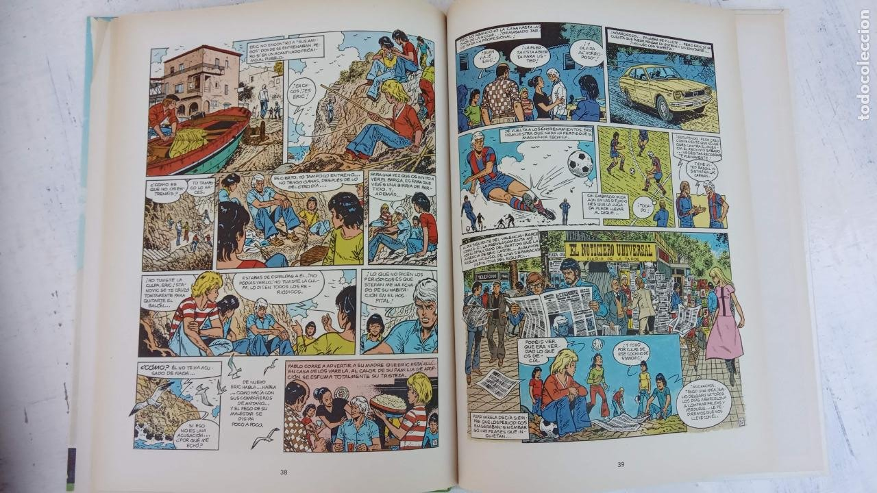 Cómics: ERIC CASTEL EN CASTELLANO Y NUEVOS - NºS 1,3,6,7,8,9,10,11,12,13,14,15 ÚLTIMO DE ESTA SERIE - GRIJAL - Foto 19 - 211483702