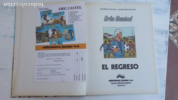 Cómics: ERIC CASTEL EN CASTELLANO Y NUEVOS - NºS 1,3,6,7,8,9,10,11,12,13,14,15 ÚLTIMO DE ESTA SERIE - GRIJAL - Foto 80 - 211483702