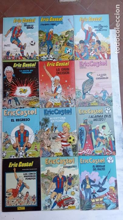 ERIC CASTEL EN CASTELLANO Y NUEVOS - NºS 1,3,6,7,8,9,10,11,12,13,14,15 ÚLTIMO DE ESTA SERIE - GRIJAL (Tebeos y Comics - Grijalbo - Eric Castel)
