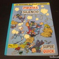 Cómics: LAS AVENTURAS DE SPIROU Y FANTASIO LOS PIRATAS DEL SILENCIO. Lote 211500261