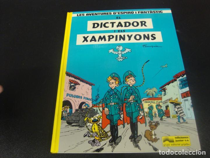 LES AVENTURES D'ESPIRU I FANTASTIC DICTADOR DE XAMPINYONS (Tebeos y Comics - Grijalbo - Spirou)