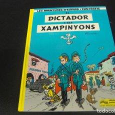 Cómics: LES AVENTURES D'ESPIRU I FANTASTIC DICTADOR DE XAMPINYONS. Lote 211500642