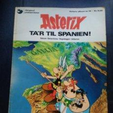 Cómics: ASTERIX TA´R TIL SPANIEN DANES EN ESPAÑA. Lote 211508894
