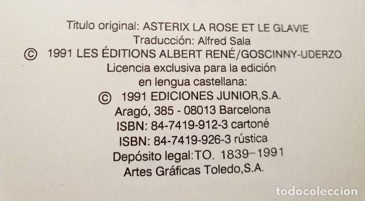 Cómics: ASTERIX LA ROSA Y LA ESPADA - Foto 2 - 203456217