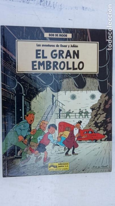Cómics: BOB DE MOOR - LAS AVENTURAS DE OSCAR Y JULIAN NºS 1 Y 2 - NUEVOS 1ª EDICIÓN 1988 GRIJALBO - Foto 2 - 211515336