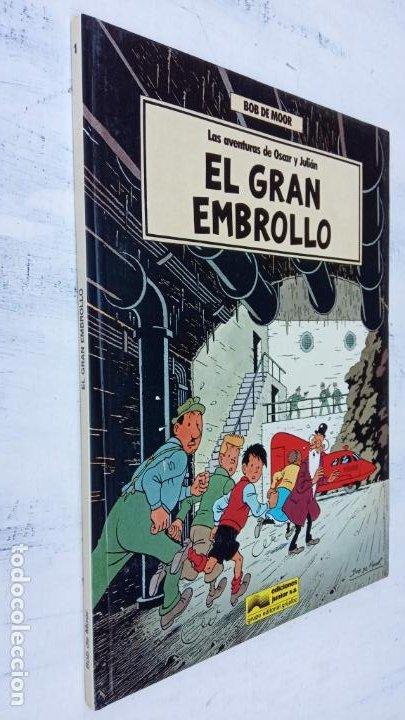 Cómics: BOB DE MOOR - LAS AVENTURAS DE OSCAR Y JULIAN NºS 1 Y 2 - NUEVOS 1ª EDICIÓN 1988 GRIJALBO - Foto 3 - 211515336