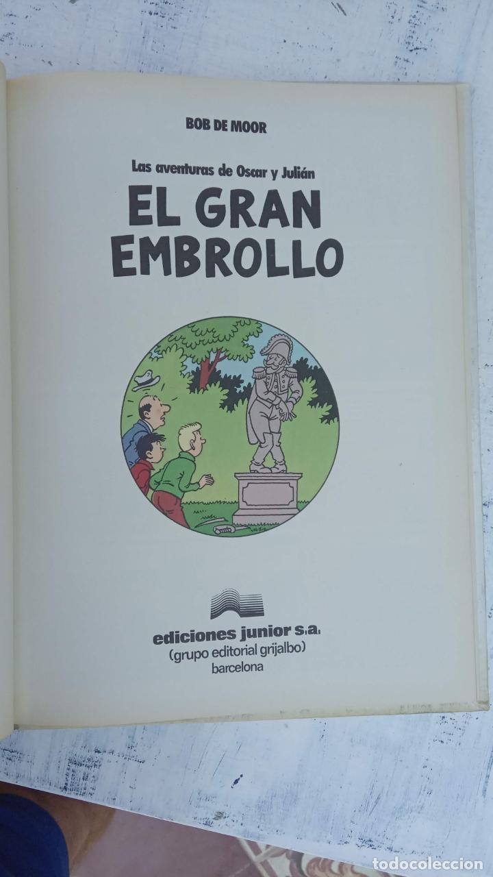 Cómics: BOB DE MOOR - LAS AVENTURAS DE OSCAR Y JULIAN NºS 1 Y 2 - NUEVOS 1ª EDICIÓN 1988 GRIJALBO - Foto 4 - 211515336