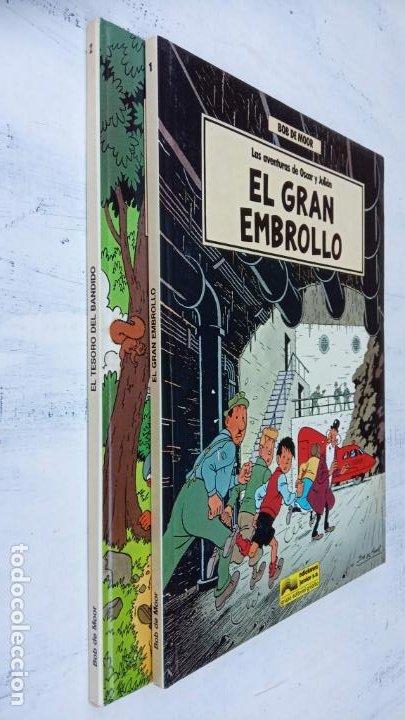 Cómics: BOB DE MOOR - LAS AVENTURAS DE OSCAR Y JULIAN NºS 1 Y 2 - NUEVOS 1ª EDICIÓN 1988 GRIJALBO - Foto 5 - 211515336