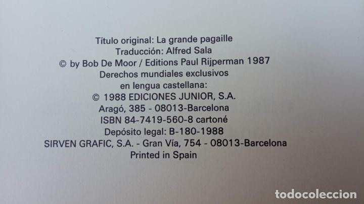 Cómics: BOB DE MOOR - LAS AVENTURAS DE OSCAR Y JULIAN NºS 1 Y 2 - NUEVOS 1ª EDICIÓN 1988 GRIJALBO - Foto 9 - 211515336