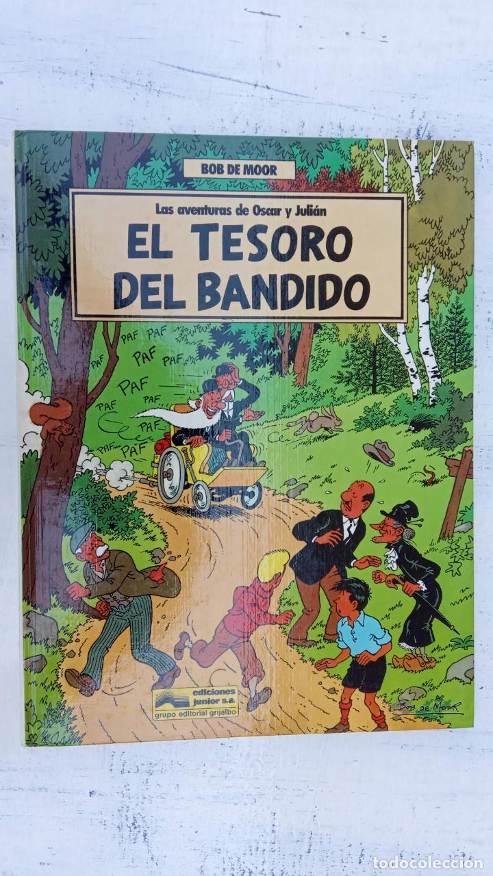 Cómics: BOB DE MOOR - LAS AVENTURAS DE OSCAR Y JULIAN NºS 1 Y 2 - NUEVOS 1ª EDICIÓN 1988 GRIJALBO - Foto 10 - 211515336